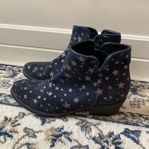 Blue Suede Star 🌟 Booties